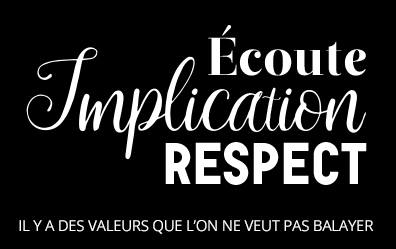 Ecoute implication respect